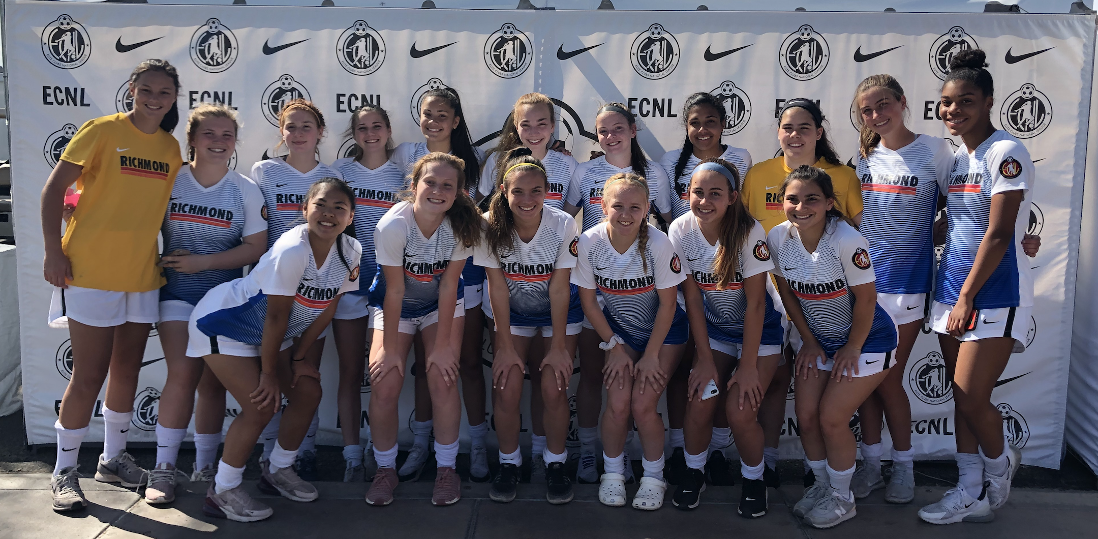 Richmond United ECNL | 2019-2020 Rosters