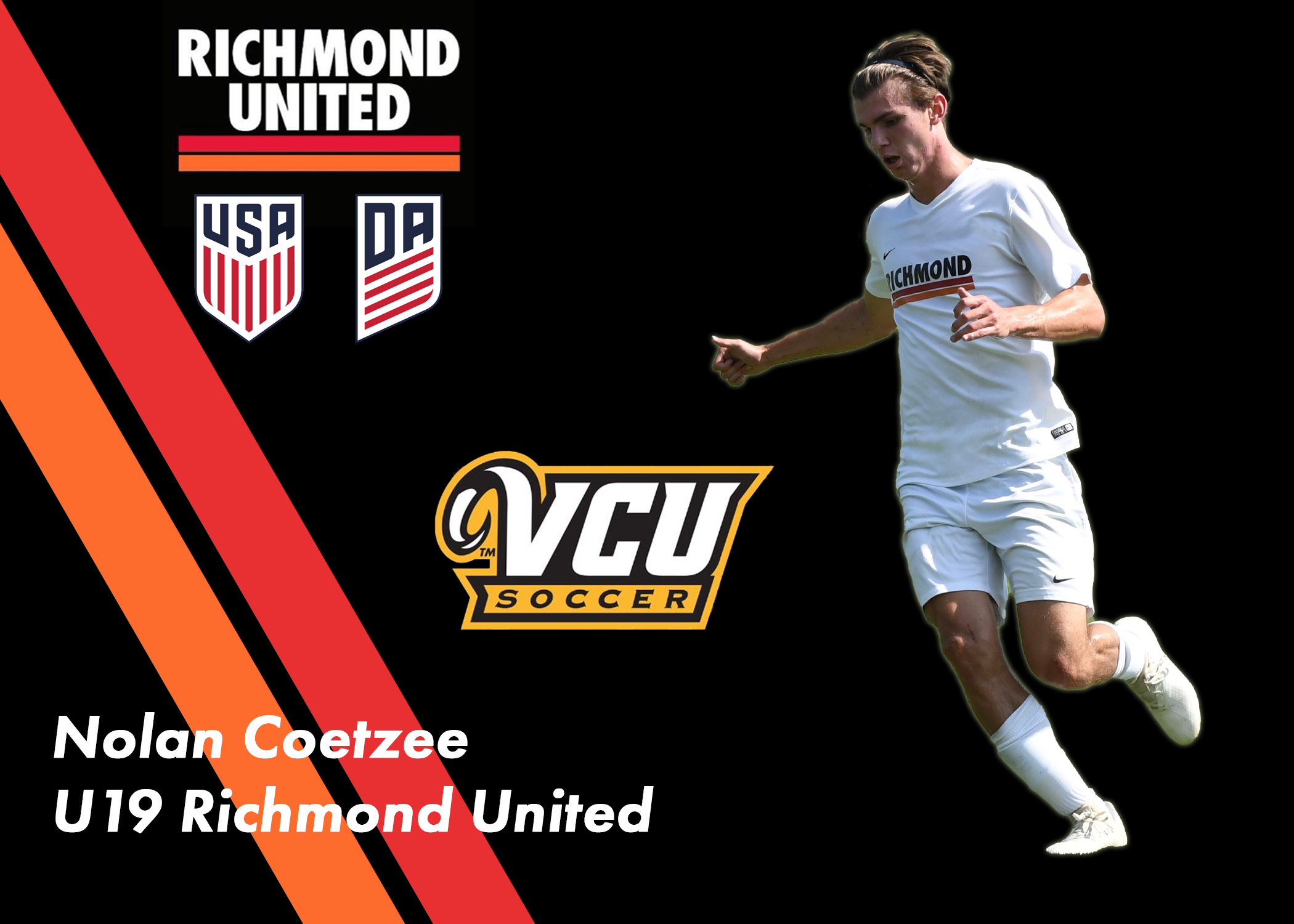Nolan Coetzee Commits to VCU for the Fall of 2020