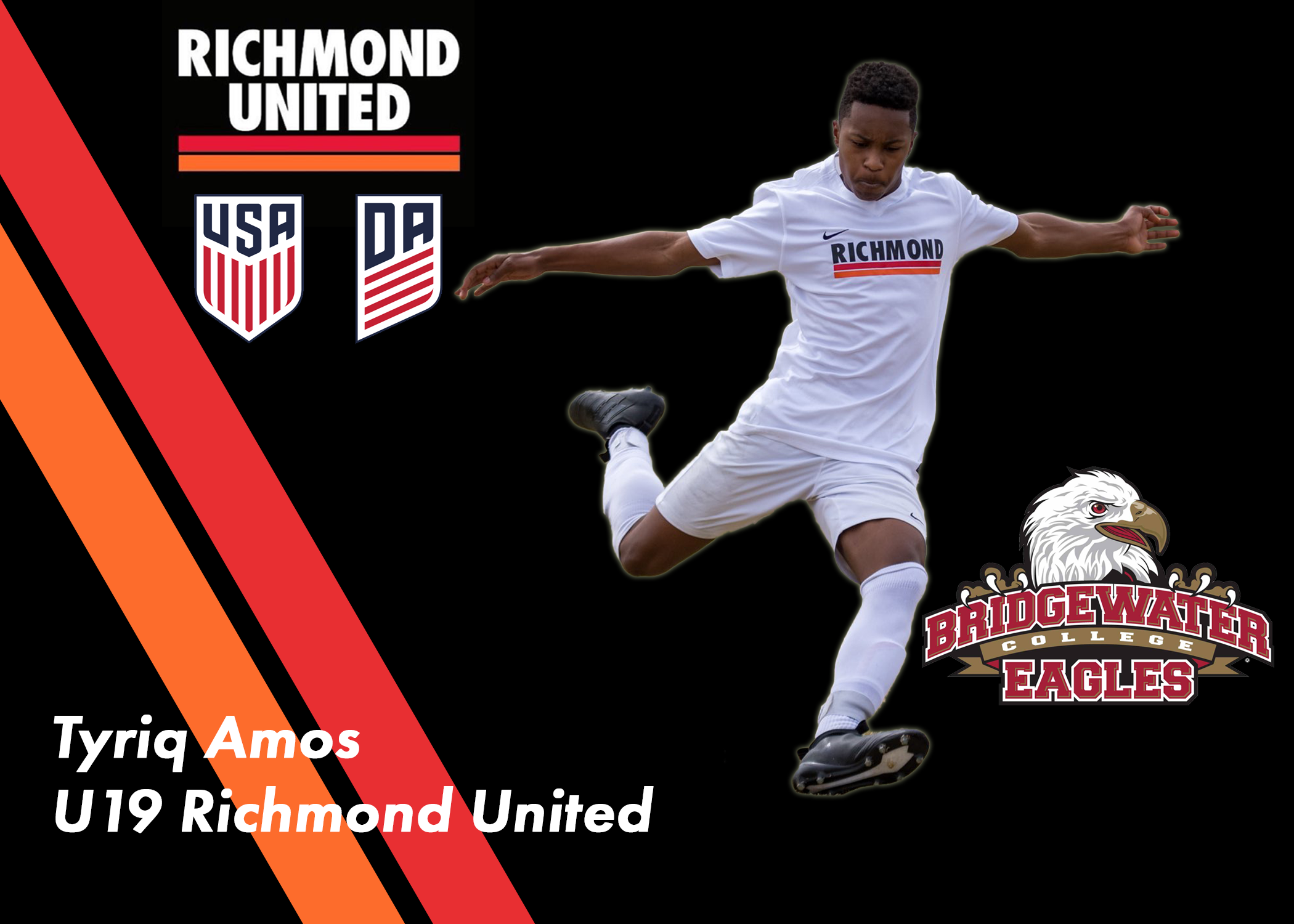 Tyriq Amos Commits to Bridgewater College for the Fall of 2020